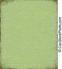 Green fiber grunge background