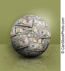Green Financial Money Ball