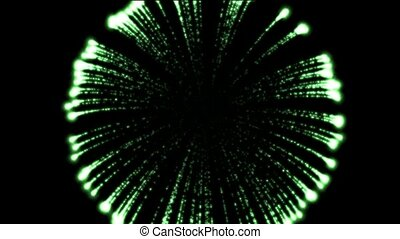 green fireworks,holiday,seamless