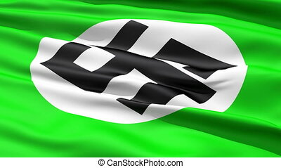 Green Flag With Dollar Sign