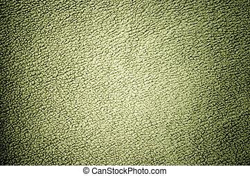 Green fleece texture