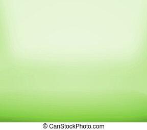 Green Floor Empty Space