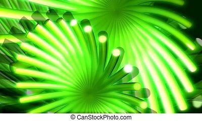 green, flow, appendage
