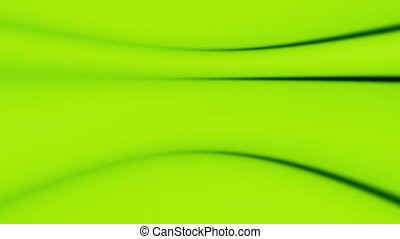 Green flowing soft abstract loop