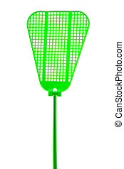 green fly swatter