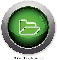 Green folder button