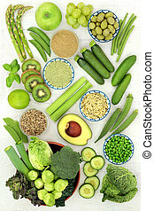 Green Food for a Healthy Diet