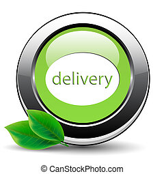 Green free delivery button