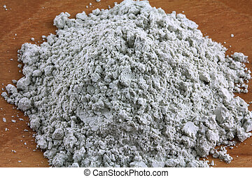 Green French Clay Powder : Facial mask for deep absorbent...