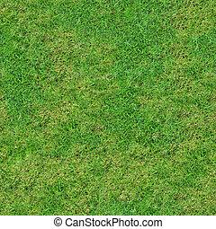 Green Fresh Meadow Grassland. Seamless Tileable Texture.