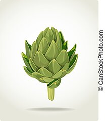 fresh useful eco-friendly artichoke - green fresh useful...