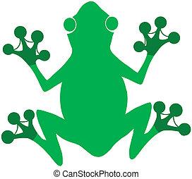 Green Frog Logo