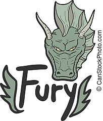 Green fury - Creative design of green fury