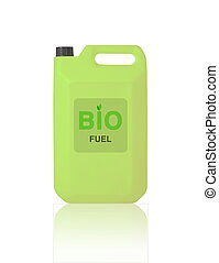 Green Gallon of bio fuel