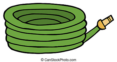 Green Garden Hose - Gardening Tool-Green Hose