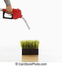 Green gasoline concept