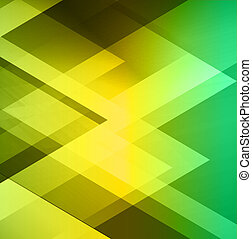 Green geometric  business background.