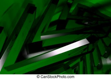 green, glare, beam
