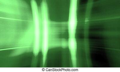 Green glitch mode looping background CG - Glitch mode high...