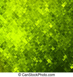 Green glitters on a soft blurred. EPS 10