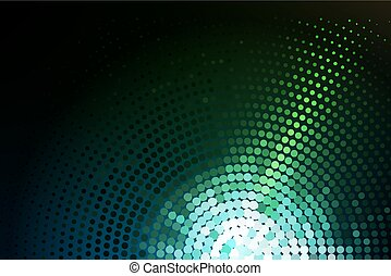 green glowing techno background - Abstract Swirl of Green ...