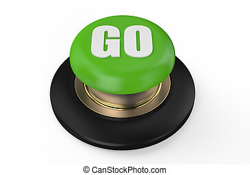 Green go button