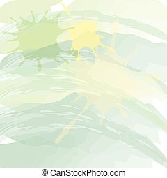 Green gradient abstract watercolor style for background