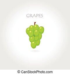 green grapes illustration