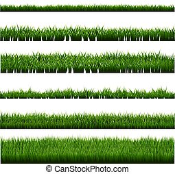 Green Grass Border Big Collection