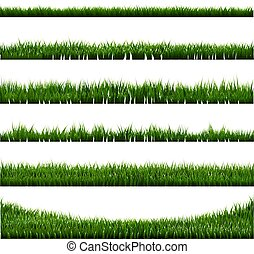 Green Grass Border Big Collection