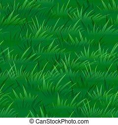 Green Grass, Seamless - Seamless Pattern, Landscape, Summer...