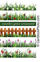 Green Grass seamless set