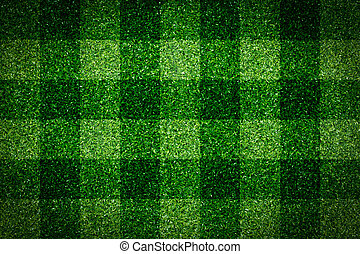 Green grass soccer field background
