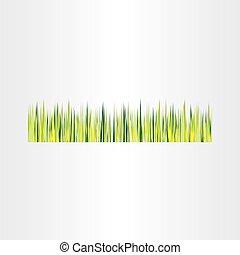 green grass vector background design element