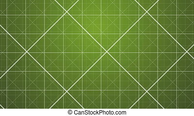 Green Grids Background.