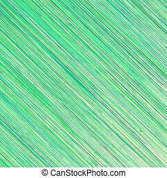 Green Grunge Line Pattern on White Background