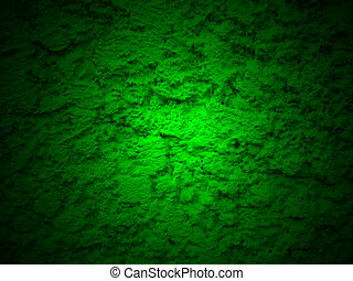 green grunge plaster wall surface 3
