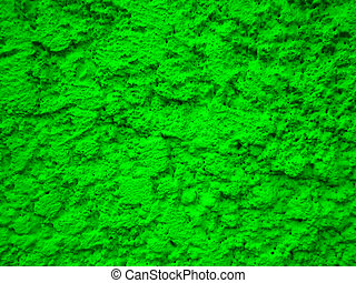 green grunge plaster wall surface 5