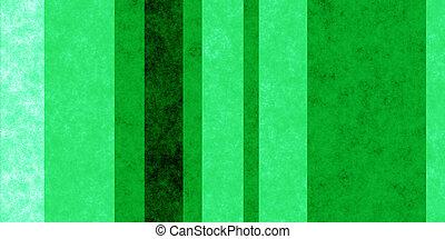 Green Grunge Stripe Paper Texture. Retro Vintage Scrapbook Lines Background.