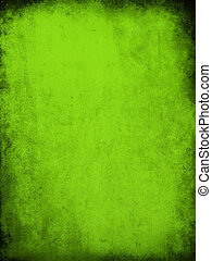 green grunge texture - 2d illustration of an old paper...