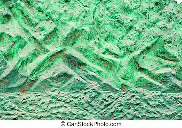 green grunge wall background