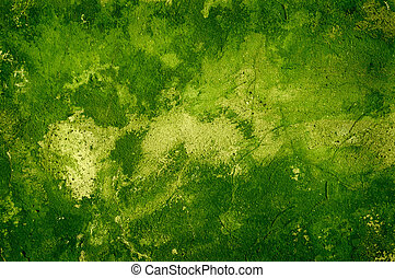 green grunge wall