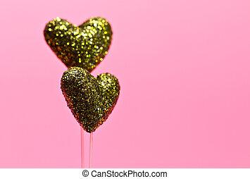 Green Heart for Valentine