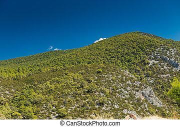 Green Hill in Greece