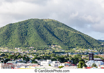 Green Hill on St Kitts