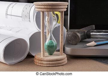 Green Hourglass