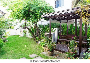 Green house garden