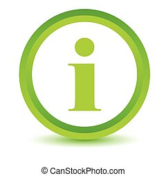 Green info icon