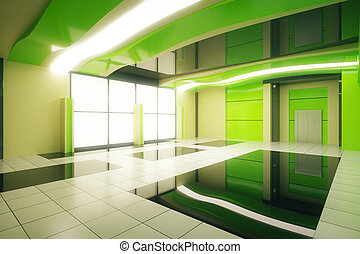 Green interior side