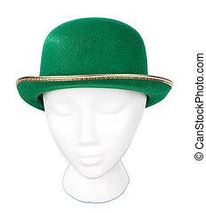 Green Irish Derby Hat